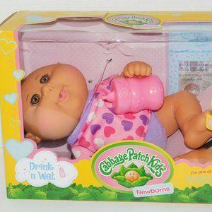 Cabbage Patch Kids Drink n Wet Newborns Baby